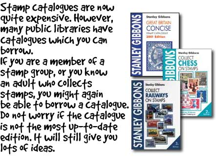 Stamp Catalogue Tips